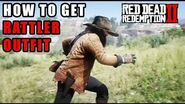 Red Dead Redemption 2 - How To Get The Rattler Outfit! Location Guide