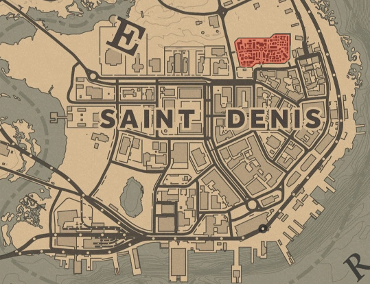 Saint Denis Cemetery Red Dead Wiki Fandom