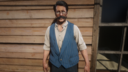 Exotics shopkeeper 1907