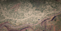 Critchley's Ranch Location bird's eye view south