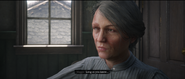 Maggie Fike during the introduction cutscene