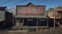 Smithfields Saloon seen from the south