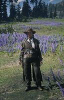 Sadie Adler near Pronghorn Ranch