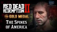 RDR2 PC - Mission -12 - The Spines of America -Replay & Gold Medal-