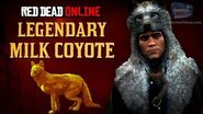 Red Dead Online - Legendary Milk Coyote Mission Animal Field Guide