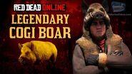 Red Dead Online - Legendary Cogi Boar Location Animal Field Guide