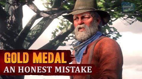 Red Dead Redemption 2 - Mission 34 - An Honest Mistake Gold Medal