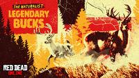 RDO Legendary Bucks The Naturalist Promo