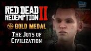 RDR2 PC - Mission 42 - The Joys of Civilization Replay & Gold Medal