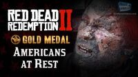 RDR2 PC - Mission -9 - Americans at Rest -Replay & Gold Medal-