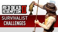 Red Dead Redemption 2 - Survivalist Challenge Guide
