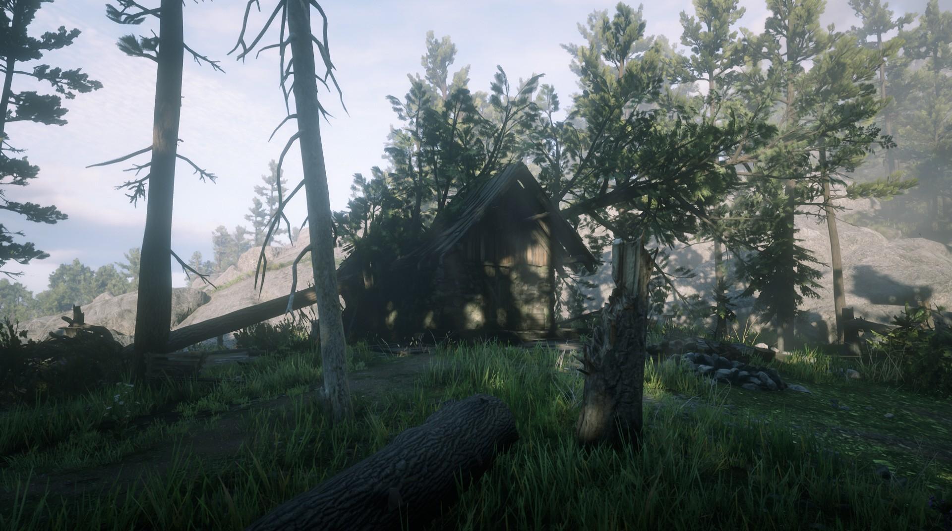 Flattened Cabin