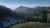 Northwestern Big Valley loading screen recreation