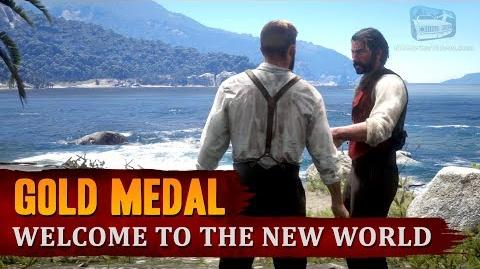 Red Dead Redemption 2 - Mission 58 - Welcome to the New World Gold Medal