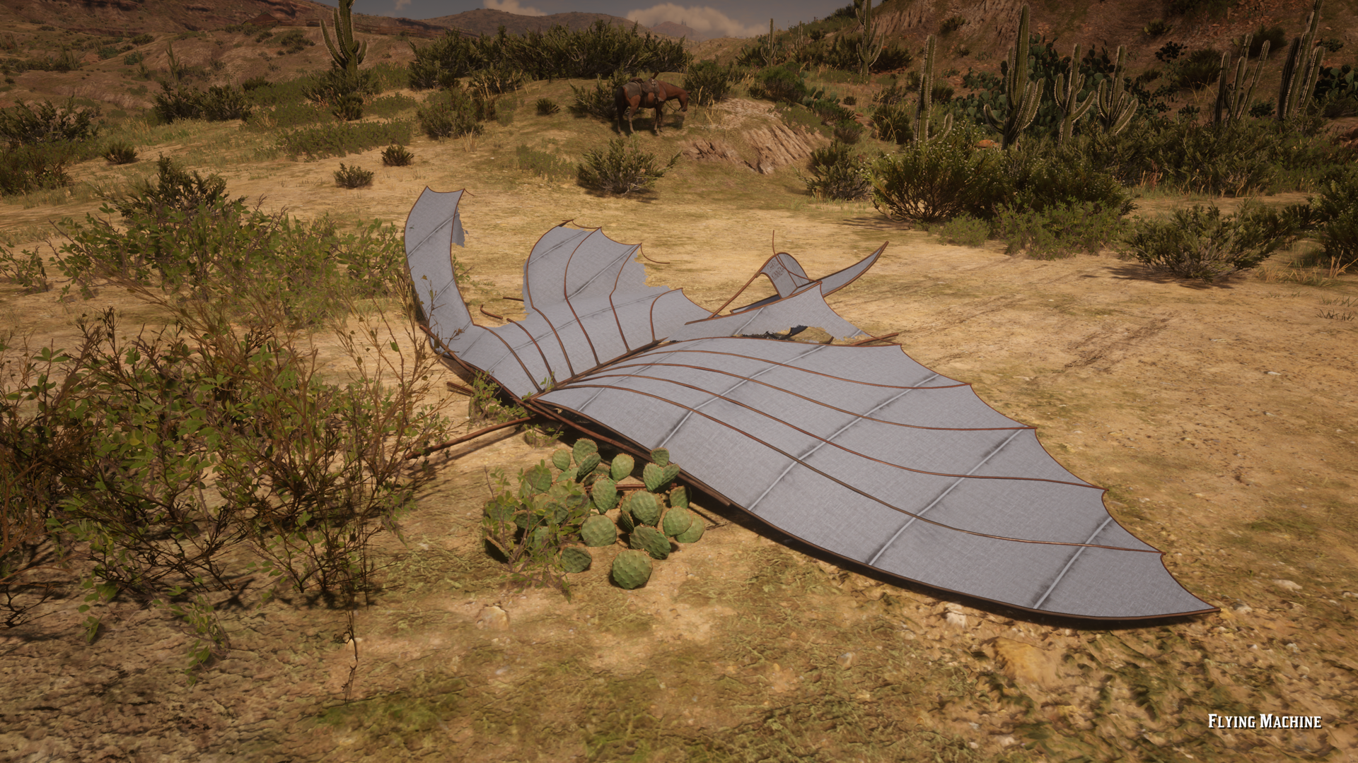 Crashed Airship