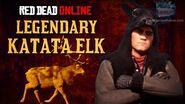 Red Dead Online - Legendary Katata Elk Location Animal Field Guide
