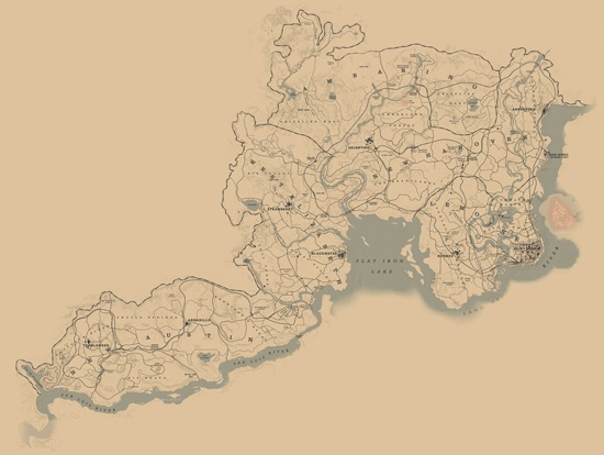 Locations in Redemption 2