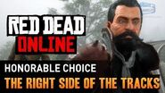 Red Dead Online - Mission 2 - The Right Side of the Tracks (Honorable) Gold Medal