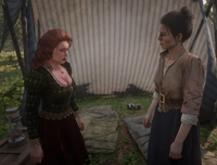 RDR2 Molly and Abigail