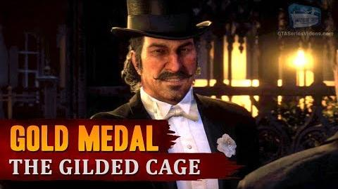 Red Dead Redemption 2 - Mission 50 - The Gilded Cage Gold Medal