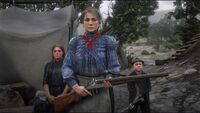Andrea's wife and children rdr2