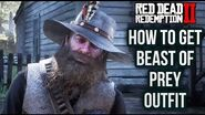 Red Dead Redemption 2 - How To Get Beast of Prey Outfit Location Guide