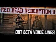 RDR2 - Arthur in New Austin - Beta Voicelines Pt 1