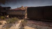 Cornwall freight train in New Austin