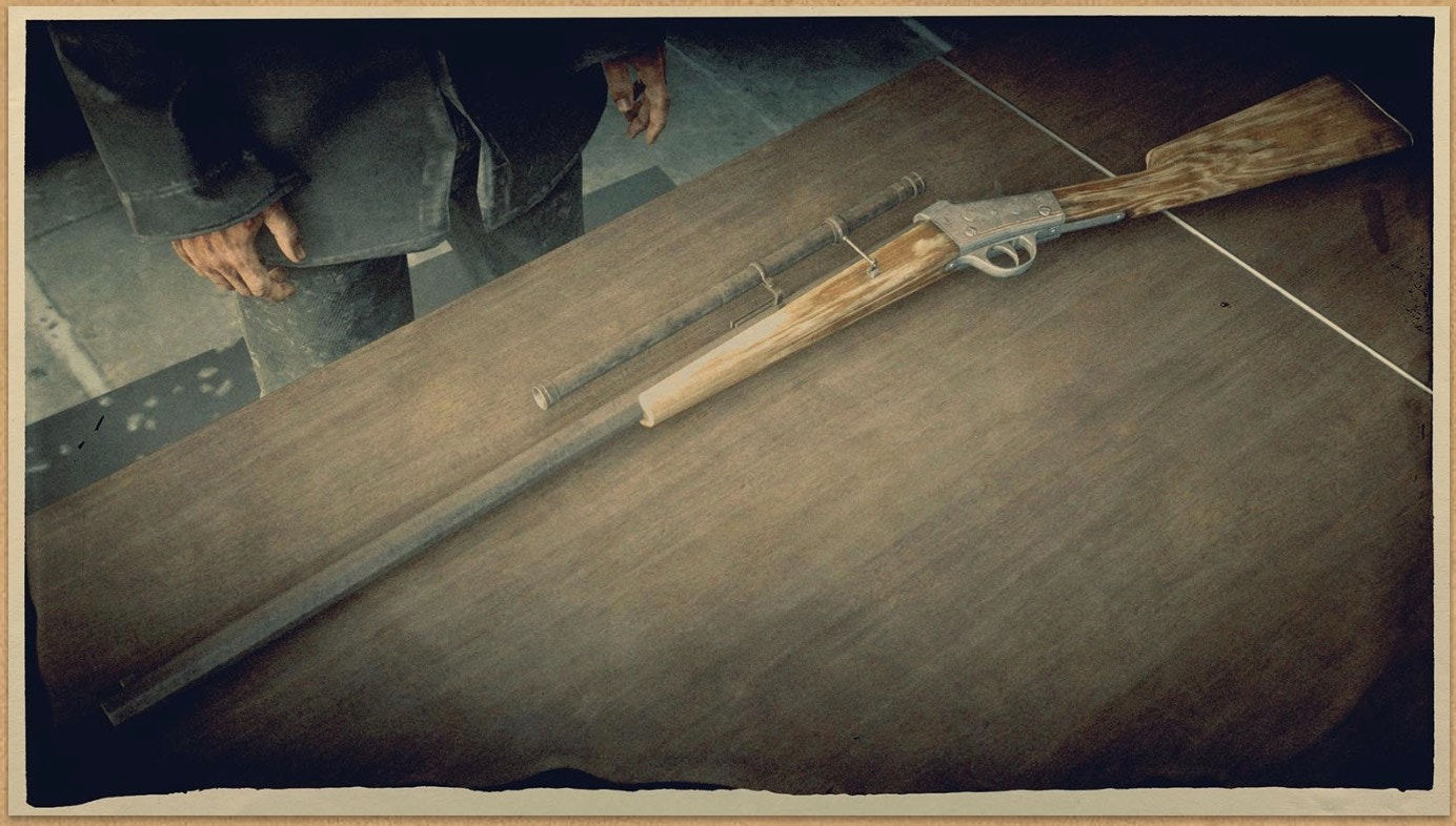 Rolling Block Rifle (RDR 2)