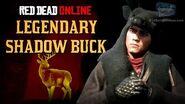 Red Dead Online - Legendary Shadow Buck Mission Animal Field Guide
