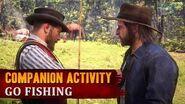 Red Dead Redemption 2 - Companion Activity 7 - Fishing (Kieran)