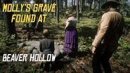 RDR2 Molly's Grave Secret Location Found at Beaver Hollow in Chapter 6 Red Dead Redemption 2