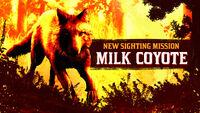 Legendary Milk Coyote rdo promo