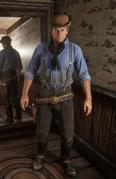 Rolled Derby Hat