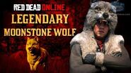 Red Dead Online - Legendary Moonstone Wolf Mission Animal Field Guide