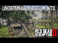 Red Dead Redemption 2 - Unobtainable Documents