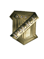 Saint Denis police badge