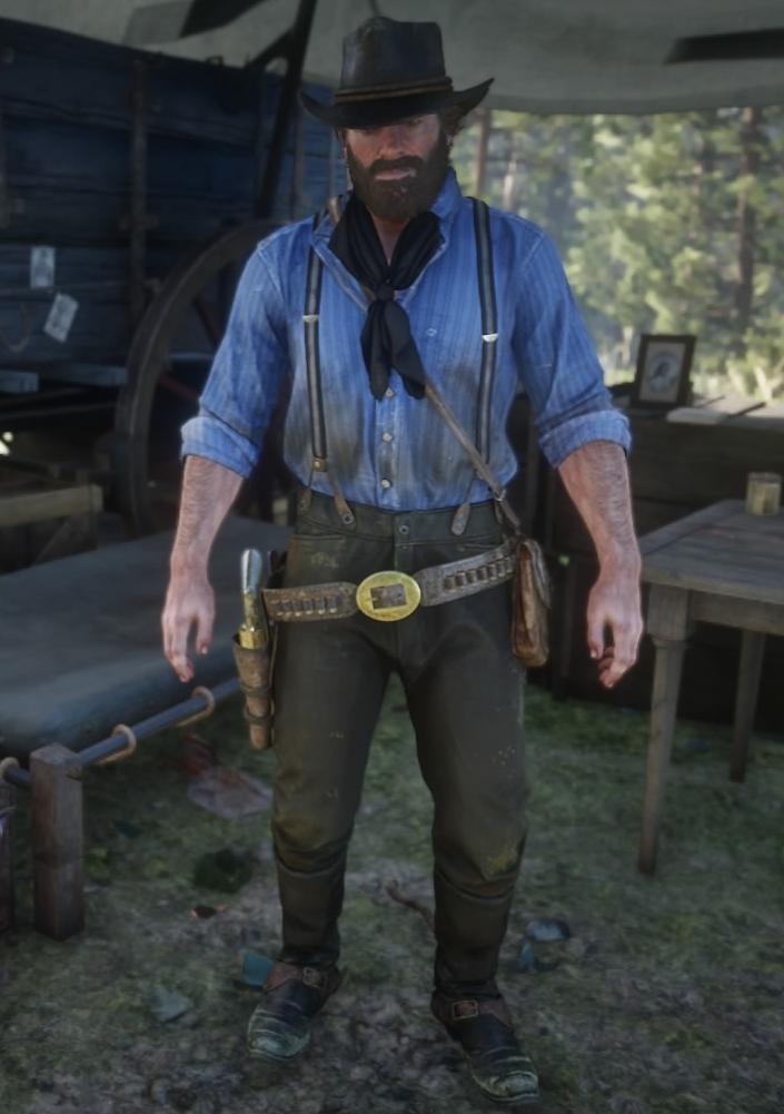 Summer Gunslinger Outfit