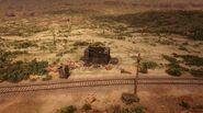 Mercer Station seen from Rio Bravo