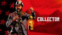 Red dead online collector art