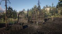 Limpany's ruined building