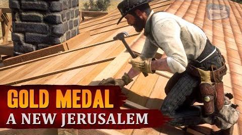 Red Dead Redemption 2 - Mission 101 - A New Jerusalem Gold Medal