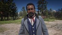 Máximo without a hat rdr2