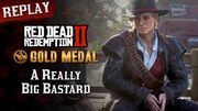 RDR2_PC_-_Mission_102_-_A_Really_Big_Bastard_Replay_&_Gold_Medal