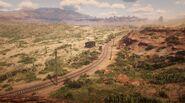 Mercer Station seen from Rio Bravo 2
