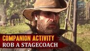 Red Dead Redemption 2 - Companion Activity 9 - Coach Robbery (Bill)