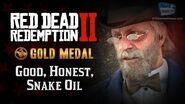 RDR2 PC - Mission 16 - Good, Honest, Snake Oil Replay & Gold Medal