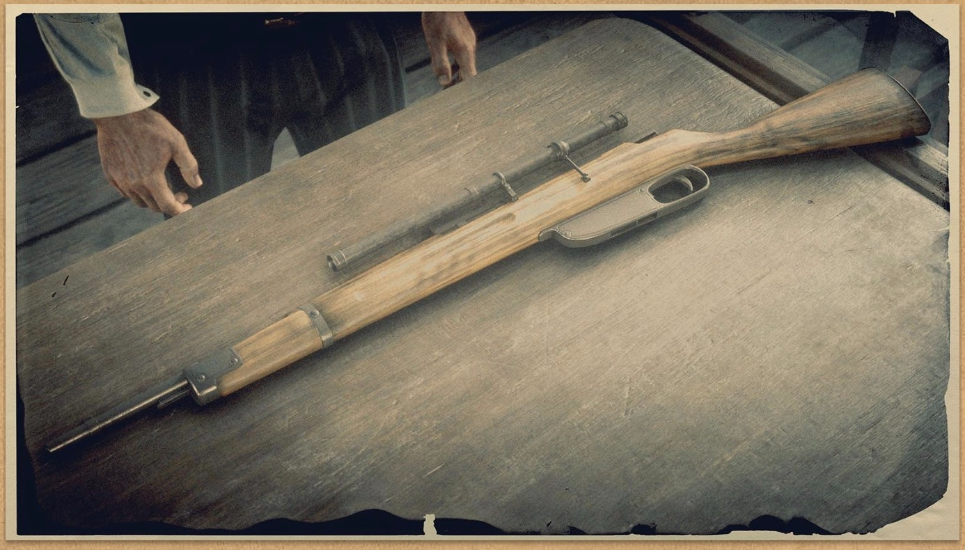 Carcano Rifle (RDR 2)