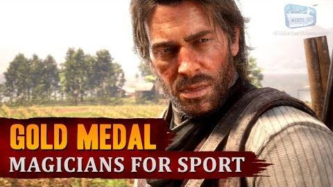 Red Dead Redemption 2 - Mission 32 - Magicians for Sport Gold Medal