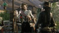 Harriet Davenport with online protagonist